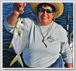 Fishing for and cooking Pompano